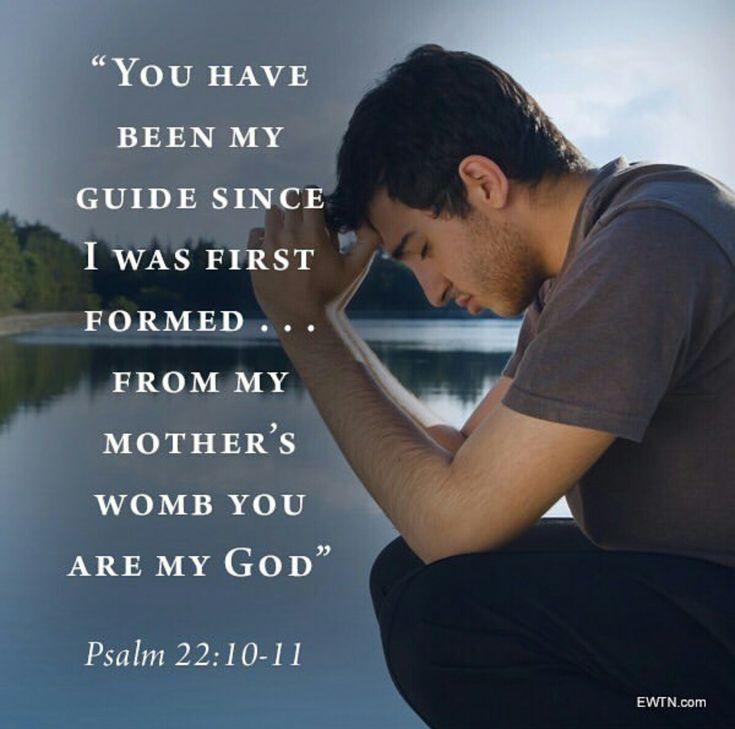 Psalm 22:10-11