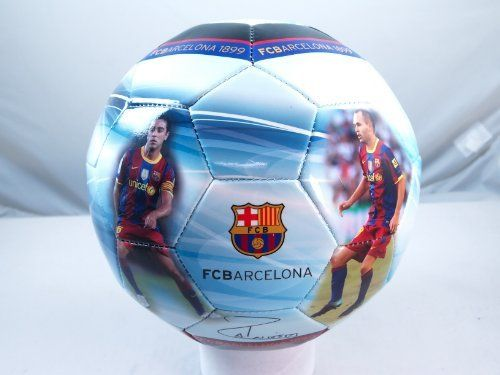 FC BARCELONA TEAM PHOTO SIGNATURE SOCCER BALL by F.C. Barcelona. $30.50. Collectors Edition