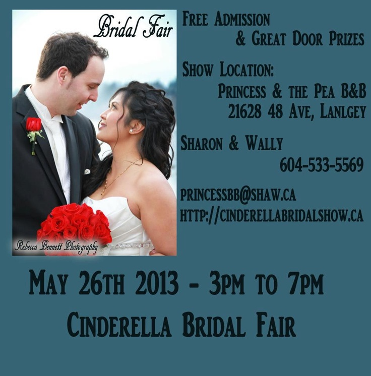 Bridal Show #Langley #BC MAY 26TH from 3pm to 7pm