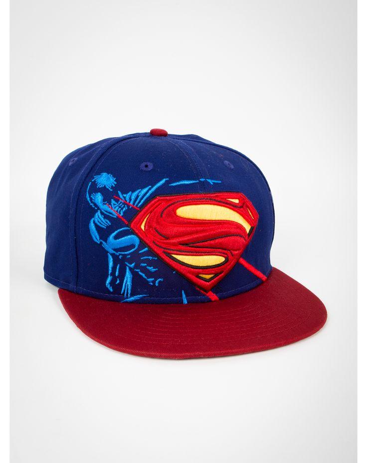 New Era Superman Tonal Snapback Hat
