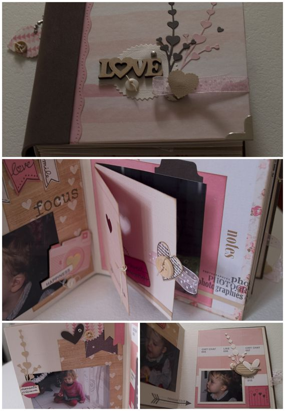 Album Love ( Kit Février – Fée du Scrap)
