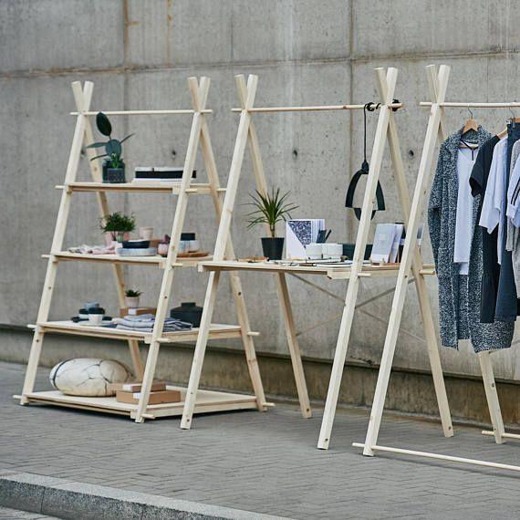 Portable Exhibition Shelves : Booth display shelves