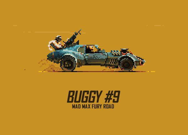Mad Max: Furia en la Carretera, furia en el Pixel Art también!…