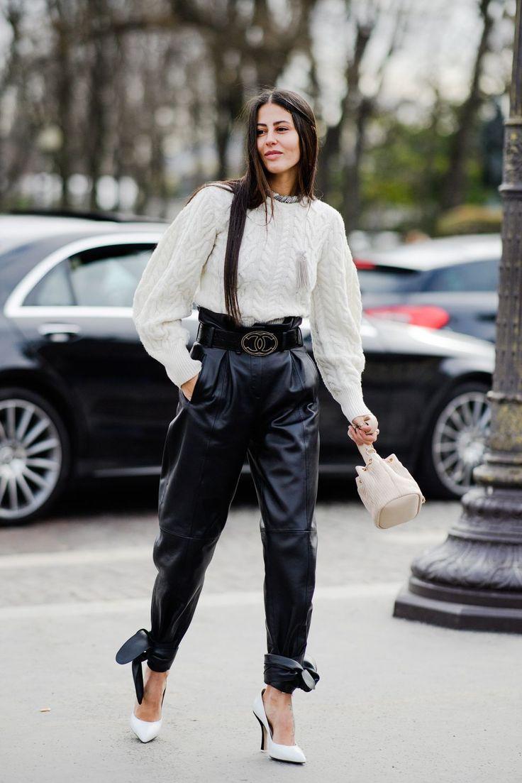 The Best Street Style From Paris Fashion Week Fall 2018 - Natasha De Vries