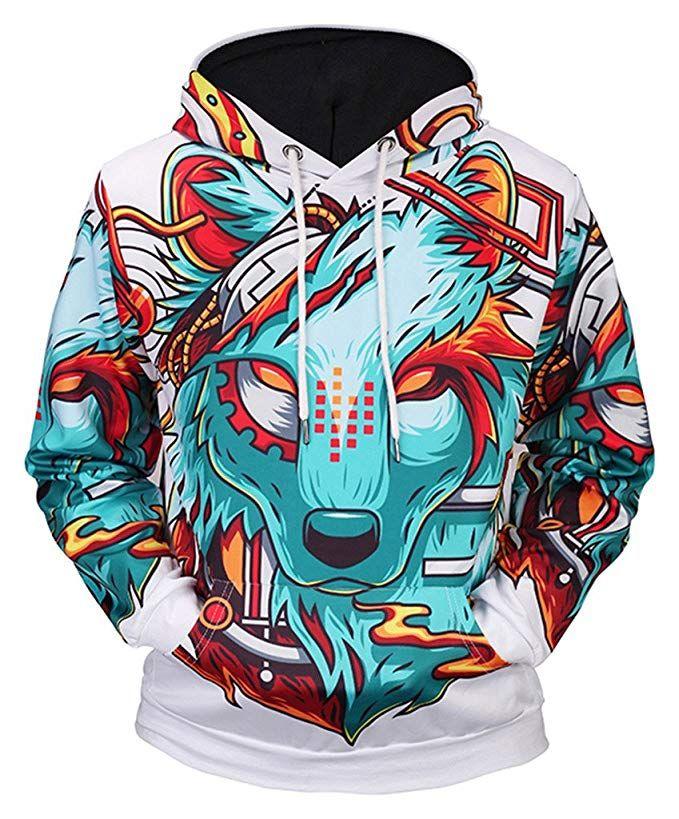 the latest 66257 ff698 Pizoff Unisex Hip Hop Sweatshirts druck Kapuzenpullover mit ...