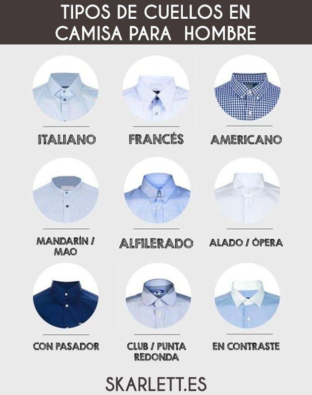 Tipos de cuellos en camisa para hombre / Little Post