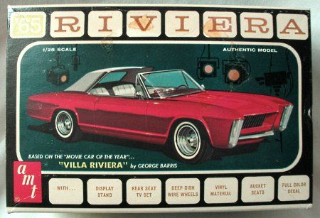 AMT Villa Riviera | Model Kit Box Art | Pinterest | Buick riviera, Buick and Model cars kits