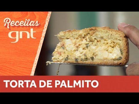 Receita de Torta de Palmito | Olivier Anquier