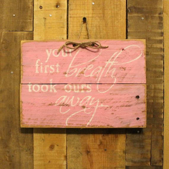 Happiness Is Homemade Handpainted Sign Handmade 12x12 Wall: Hand Painted Reclaimed Wood Pallet