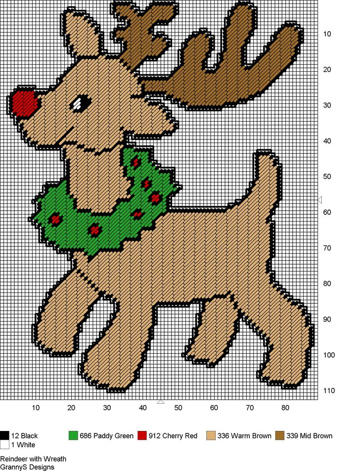 free printable plastic canvas christmas ornament patterns