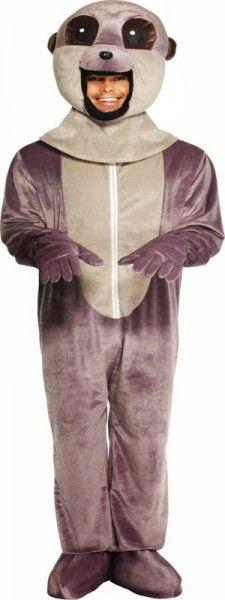 déguisement de suricate adulte, le petit ami de la mangouste, parfait pour être le nez au vent le jour de carnaval !