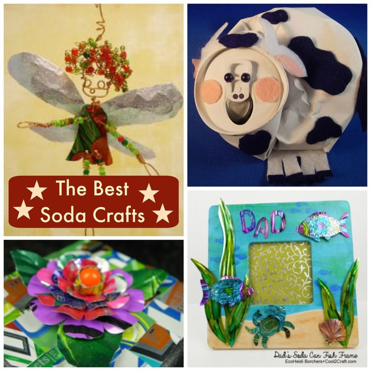 12 Soda Can Crafts For Everyone | FaveCrafts.com