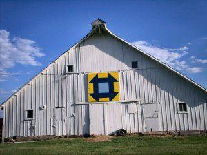 Hole in the barn door
