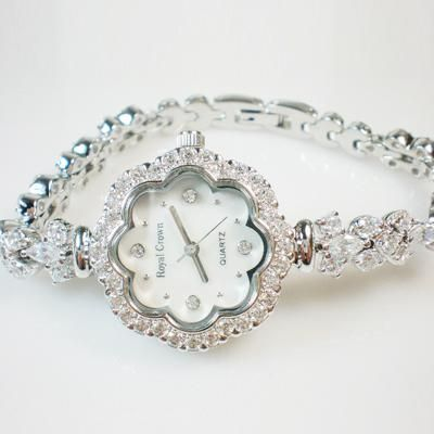 Watch Royal Crown Women's Bracelet Ladies Watch Crystal Ladies Watch Online with $123.8/Piece on Houmingxin168's Store   DHgate.com