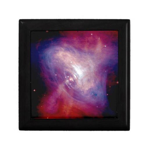 Chandra Crab Nebula jewelry gift box