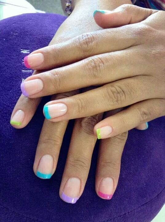 Nails colorful