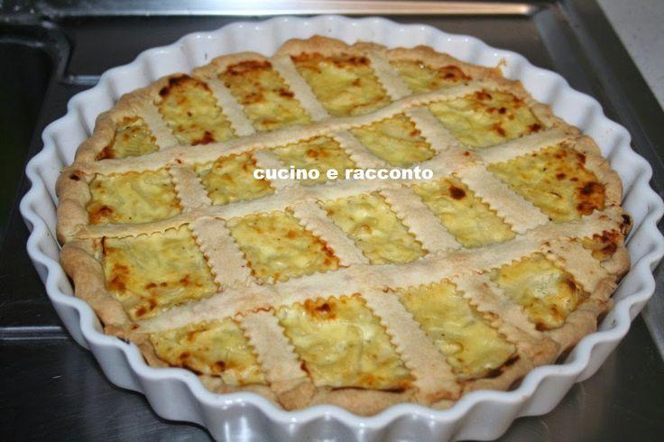 ------------  Cucino e Racconto------------: Crostata di Cipolla e Ricotta