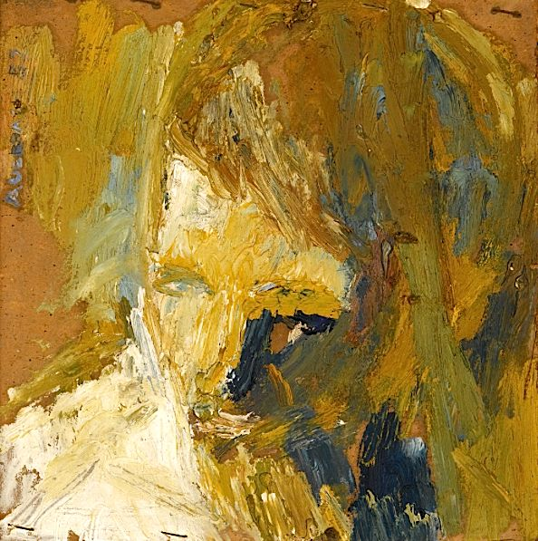 FRANK AUERBACH B. 1931 HEAD OF E.O.W.
