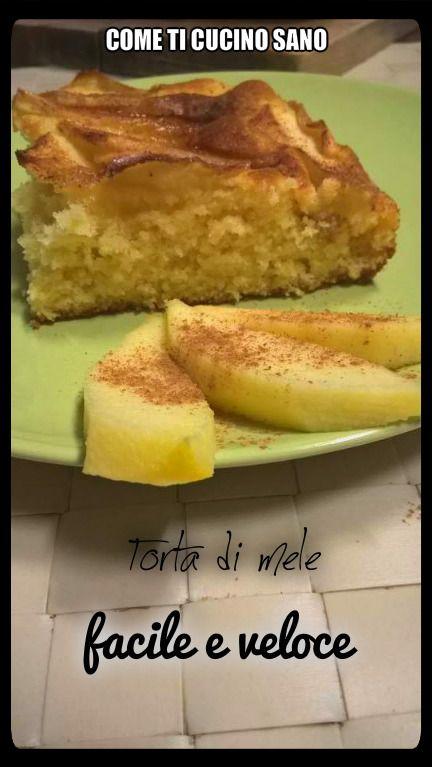 Torta+di+mele+facile+e+veloce.+Per+colazione,+merenda+o+voglia+di+dolce