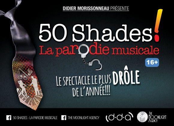 50 Shades! La Parodie Musicale lancée au Théâtre St-Denis en août 2015   HollywoodPQ.com