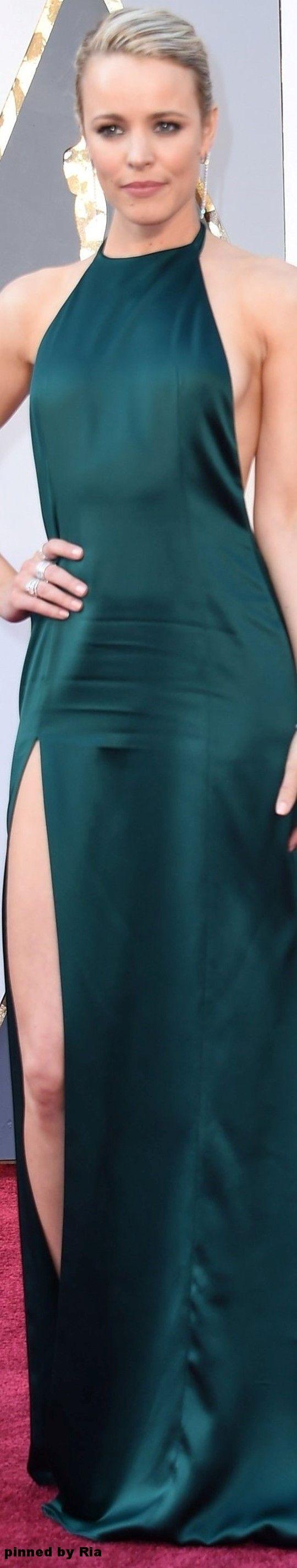 Rachel McAdams in August Getty Atelier l The 2016 Oscars l Ria