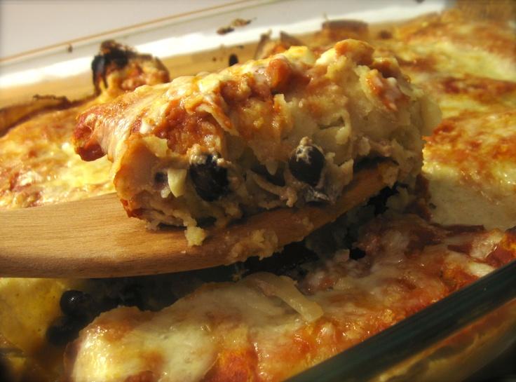 rajas poblanas enchiladas | Feeding 3 boys | Pinterest