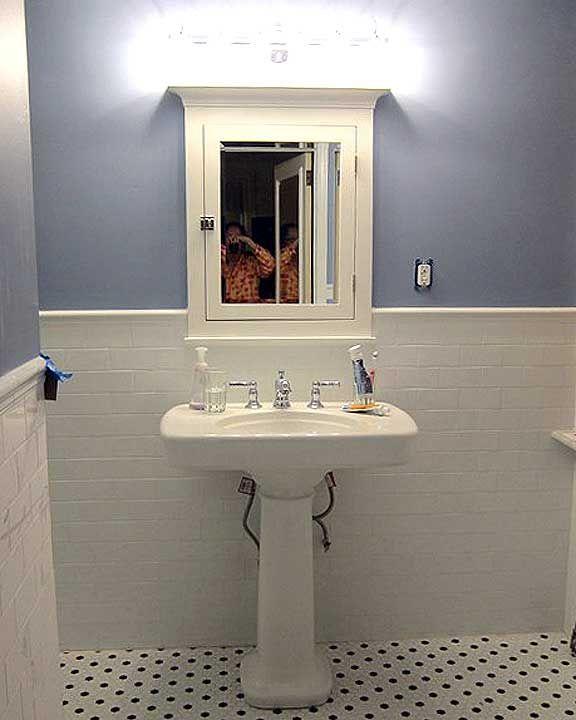 pedestal sink storage - Google Search