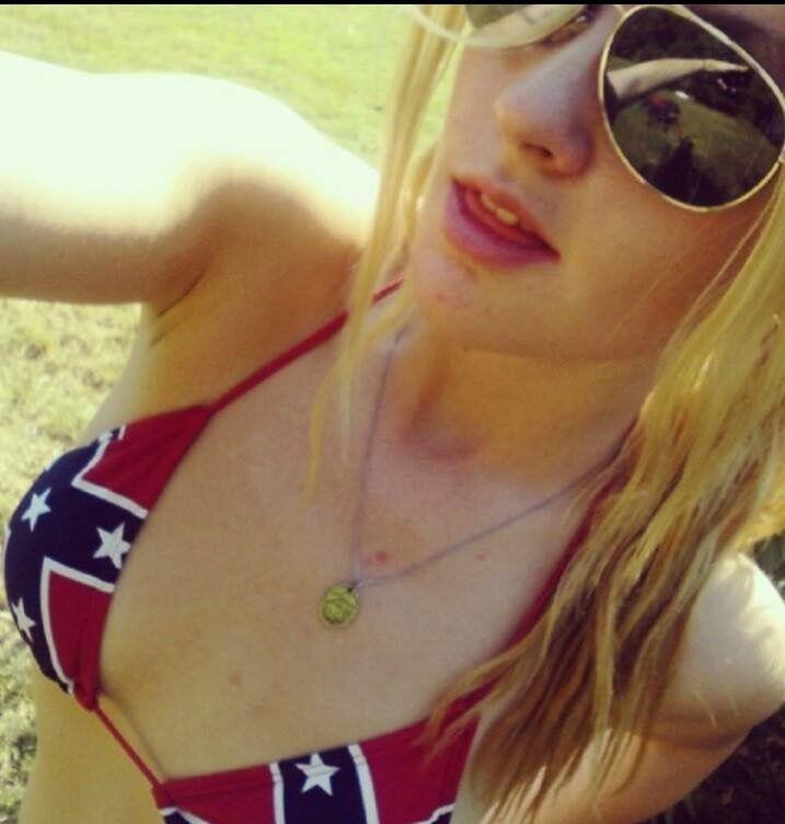 Rebel flag bikini