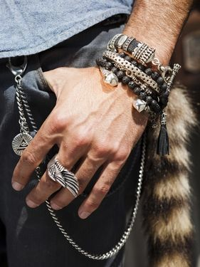 93 best men style images on Pinterest Male jewelry Man style and