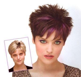 short spiky hair styles home pinterest for women