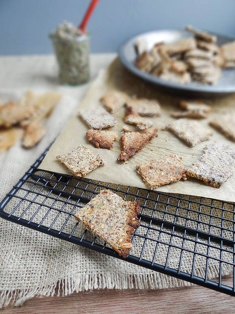 gluten free, vegan multi-grain crackers | Gluten free | Pinterest