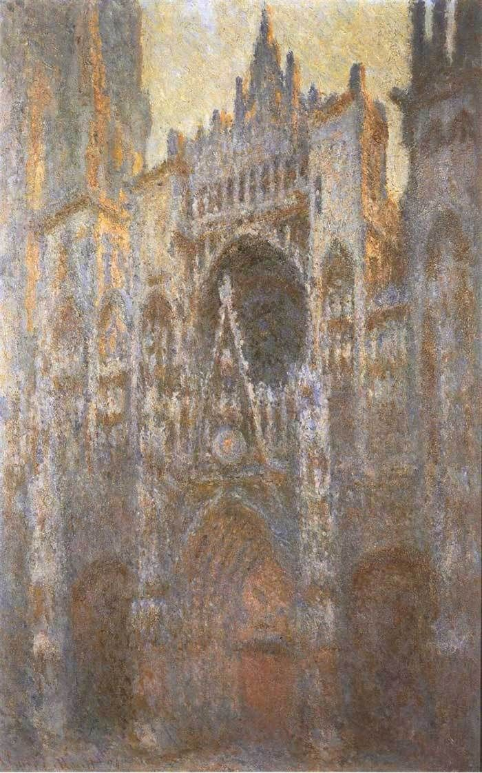 6. Claude Monet, Rouen Cathedral 02, 1894