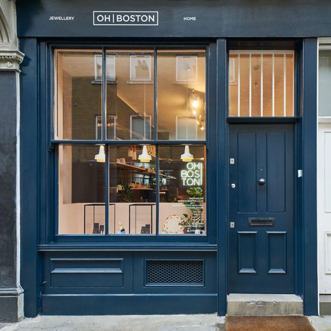 Boutique bijoux Oh Boston à Londres