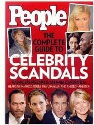 People Book Of Celebrity Scandals  Hard Bound