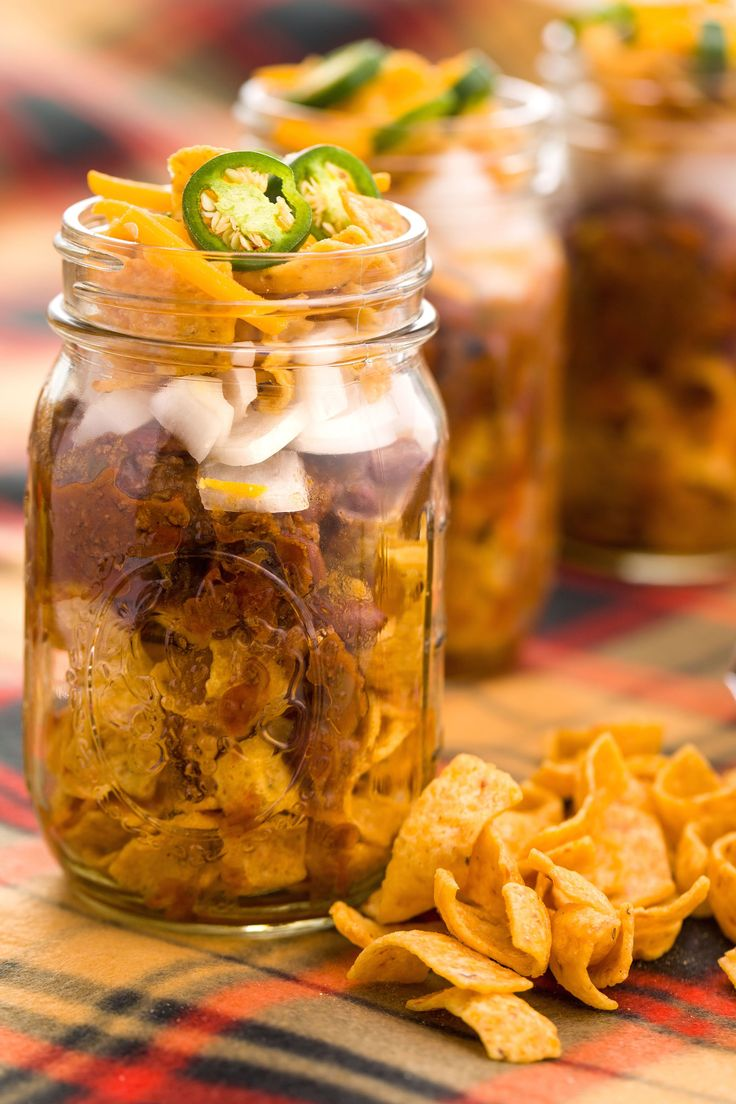 11 Mason Jar Snacks You Need on Game Day | Get In My Belly ...