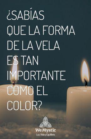 La forma de la vela y el color de la misma te servirán para enfocar tu energía en un sentido u otro. ¿Que deseas lograr?
