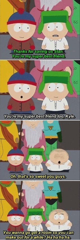 South Park Stan and Kyle