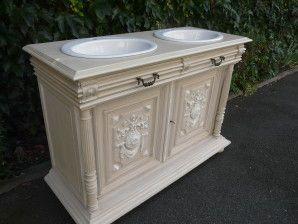 Ras le bol des meubles de salle de bain sans charme et que l'on retrouve chez…