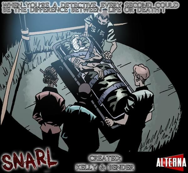 #SNARL #comicbook coming soon from publisher ALTERNA   #comics