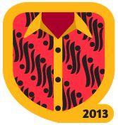 satu2nya aplikasi socialmedia yang mendukung hari batik hanya @yotomo yuk unlock badge #batik.