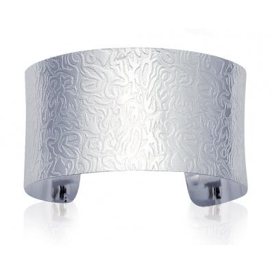 Bracelet manchette motif 1 http://www.bijoux-argent-925.fr/bracelet-manchette-motif-1-p-9221.html