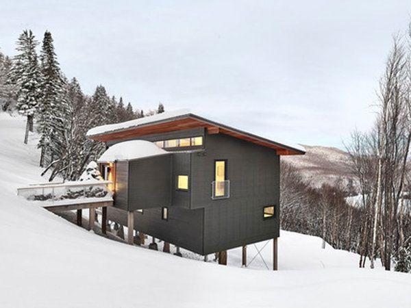 Nuevo Estilo Diseno Y Arquitectura Casas De Montana Arquitectura Chalet De Esqui