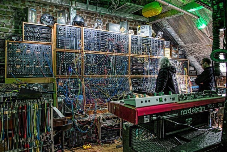 holy shit mother lode of modular synth modular photo credit rl music synths pinterest. Black Bedroom Furniture Sets. Home Design Ideas