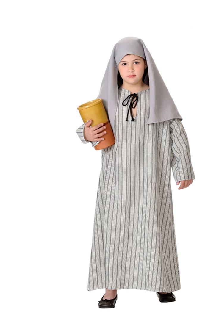 Disfraz Samaritana para belenes vivientes y representaciones navideñas