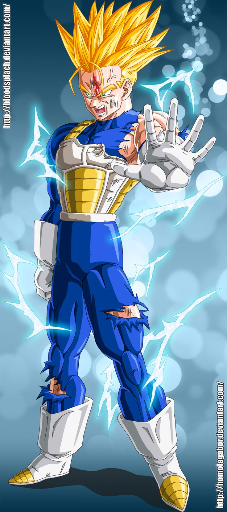 Future Trunks in Saiyan Armor | Trunks! ...Not the Clothes ...
