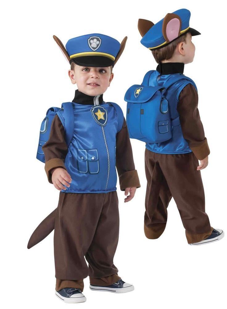 Disfraz de Chase Patrulla Canina para niño