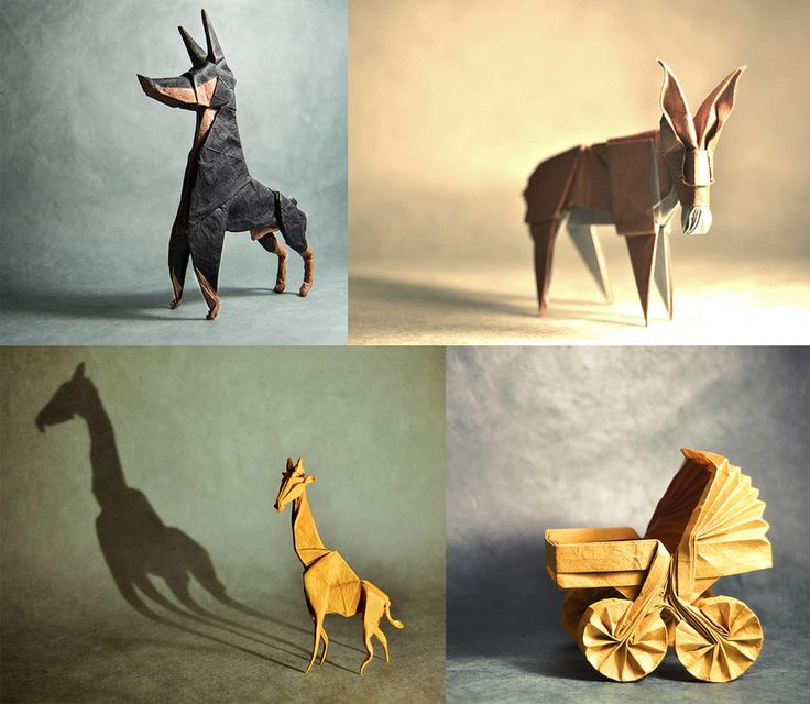 Fantastic Folds: Superb Paper Origami Creations by 'Gonzalo'