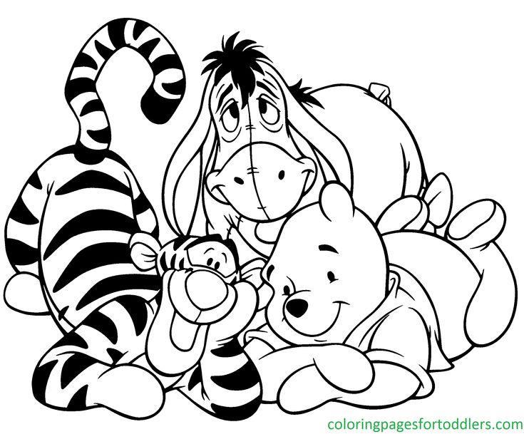 8 best Winnie The Pooh images on Pinterest | Malvorlagen, Pu der bär ...