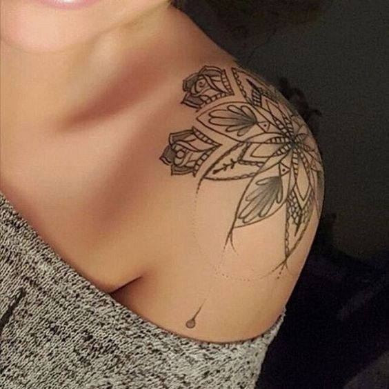 Nice Shoulder Tattoo