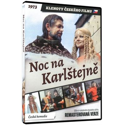 Correctly! It's Czech King Charles IV. who celebrates his 700th birthday.  Noc na Karlštejně (A Night at Karlstein) DVD Remaster